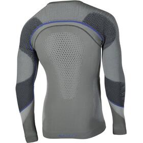 UYN Ambityon UW LS Shirt Men Medium Grey/Blue/Royal Blue